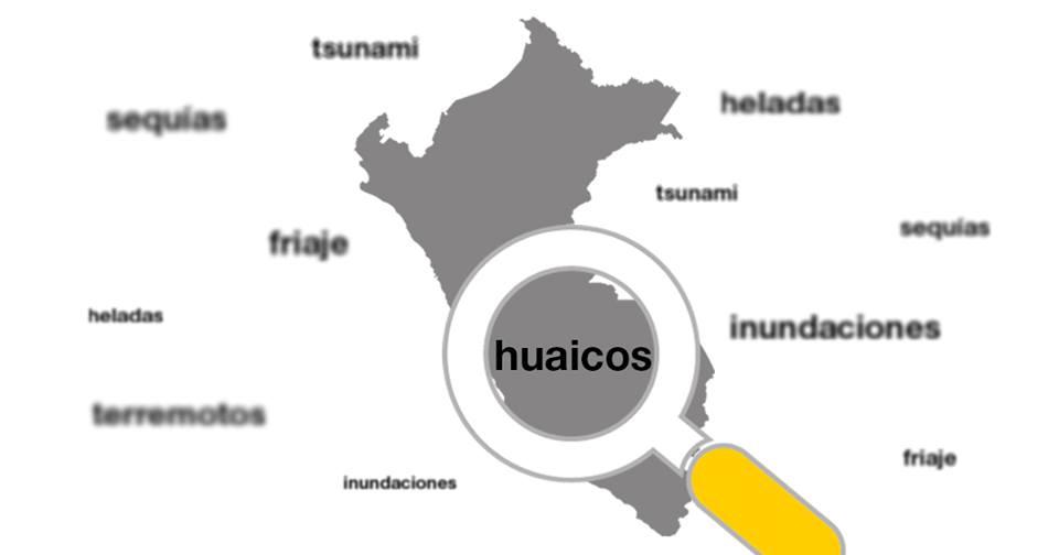 Los fenómenos naturales más comunes en el Perú