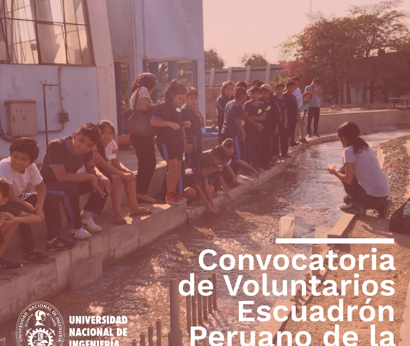 Convocatoria de voluntarios para el Escuadrón Peruano de la Prevención EPP-UNI